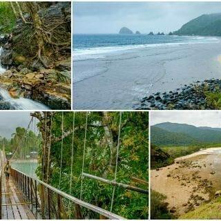 Baler Outskirts Discalarin Cove & Diguisit Beach