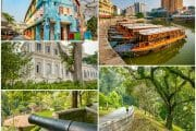 Clarke Quay, Fort Canning & National Museum of Singapore