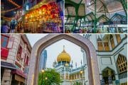 Lau Pa Sat Hawker Centre, Kampong Glam & Chinatown in Singapore