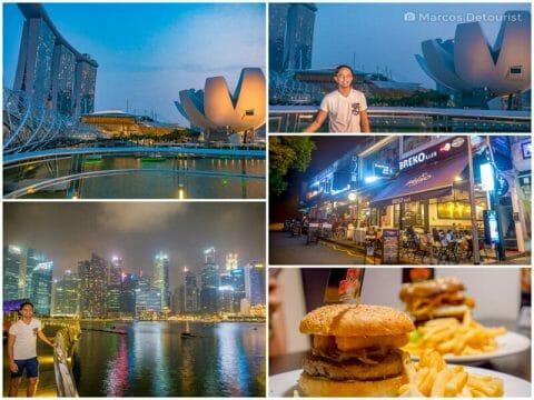 Marina Bay, Little Holland, Orchard Road & Singapore-Changi Airport
