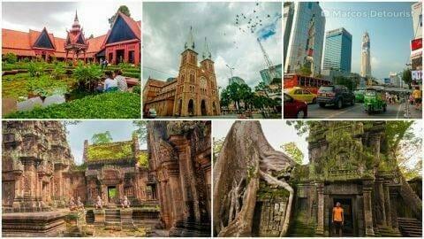Vietnam, Cambodia & Thailand 2-Week Indochina Trail Highlights
