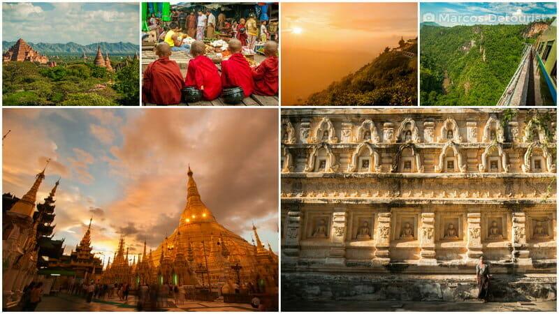 Myanmar Solo Adventure 2-Week Highlights