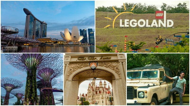 Singapore & Legoland Malaysia 5-Day Highlights