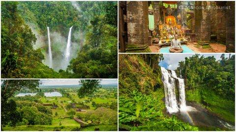 Champasak & Bolaven Plateau 4-Day Highlights