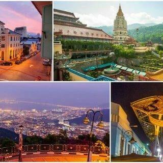 Georgetown & Penang via Kuala Lumpur 6-Day Highlights