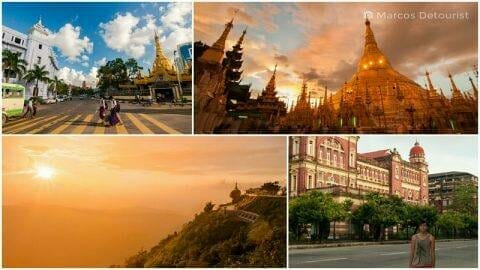Yangon & Kyaiktiyo 4-Day Highlights