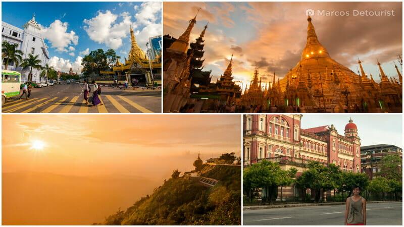 Yangon & Kyaiktiyo 4-Day Highlights