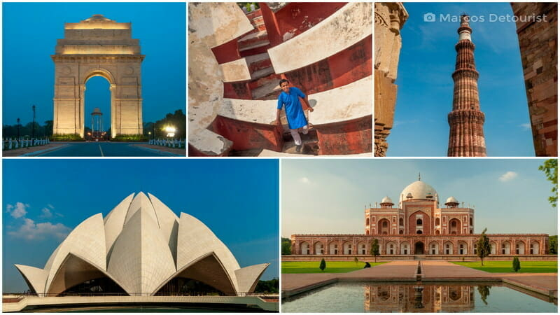 New Delhi 3-Day Highlights