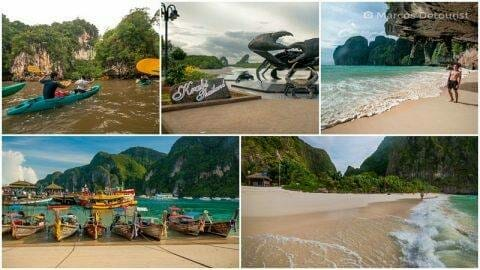 Phi Phi & Krabi 7-Day Highlights — Maya Bay, Krabi Town & Ao Thalane Sea Kayak