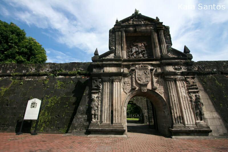 Fort Santiago in Intramuros, Manila City, Metro Manila, Philippines