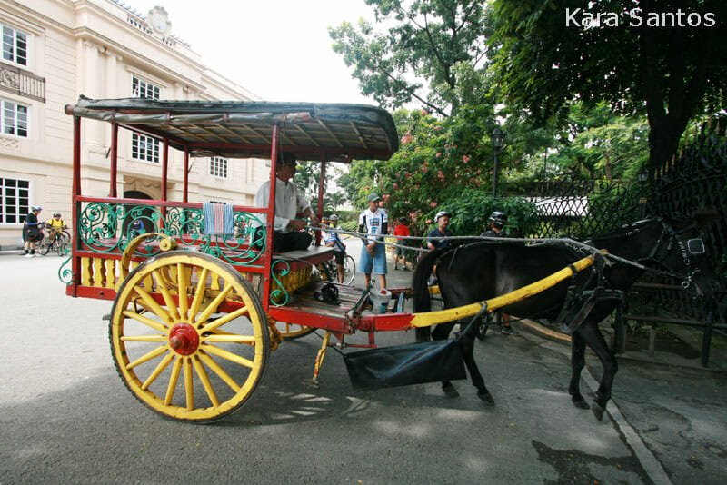 Kalesa in Intramuros