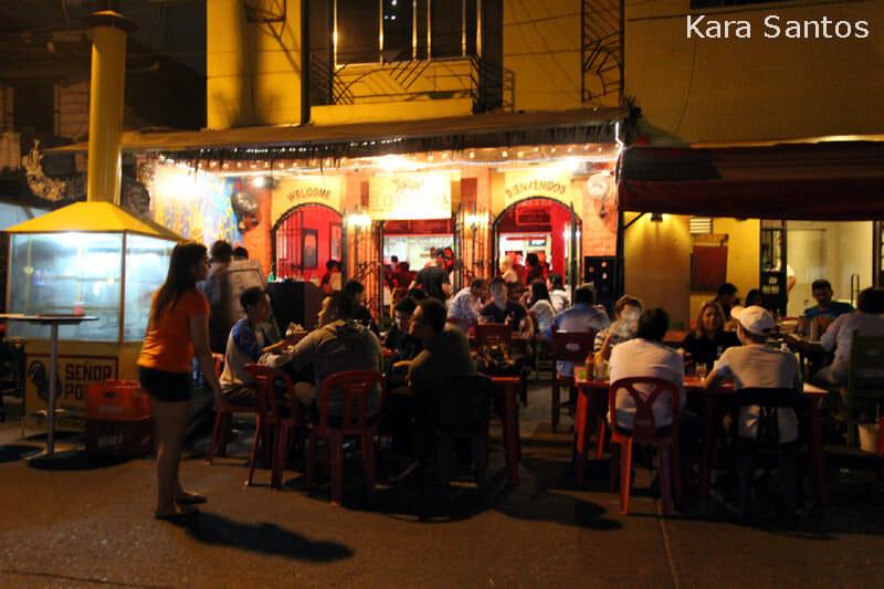 El Chupacabra Bar at Poblacion (old downtown area) in Makati City, Metro Manila, Philippines