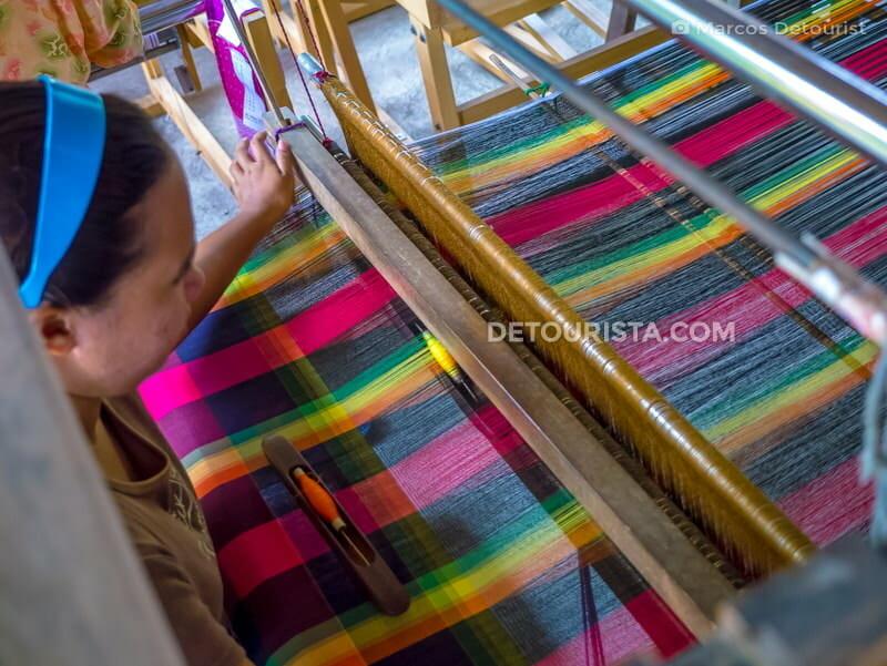Bagtason Loom Weavers, in Brgy. Bagtason, Bugasong, Antique, Philippines