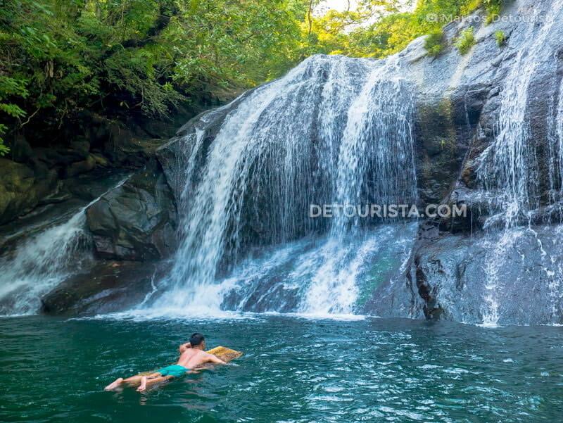 Igpasungaw Falls, in Sebaste, Antique, Philippines