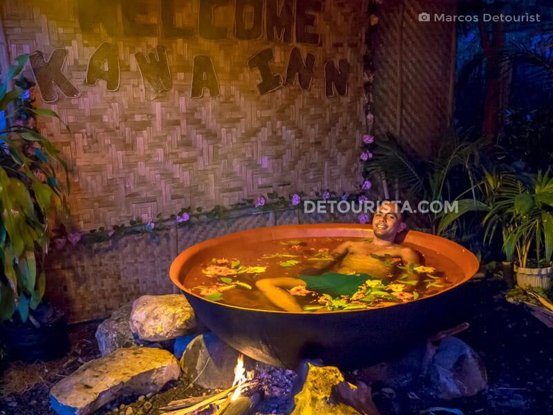 Kawa Hot Bath at Kawa Inn in Tibiao, Antique, Philippines