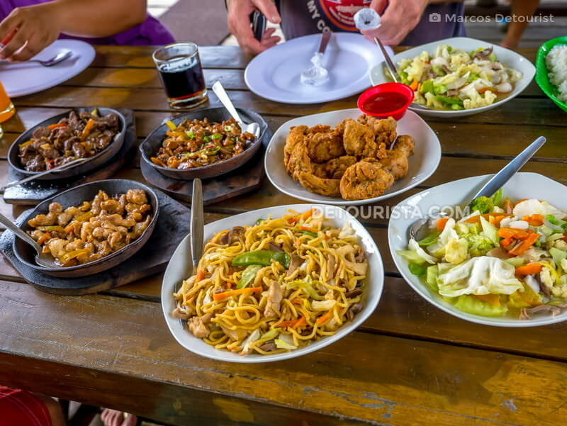 Lunch at Naranjo Water Park, Pandan, Antique, Philippines