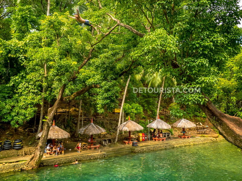 Malumpati Cold Spring in Pandan, Antique, Philippines