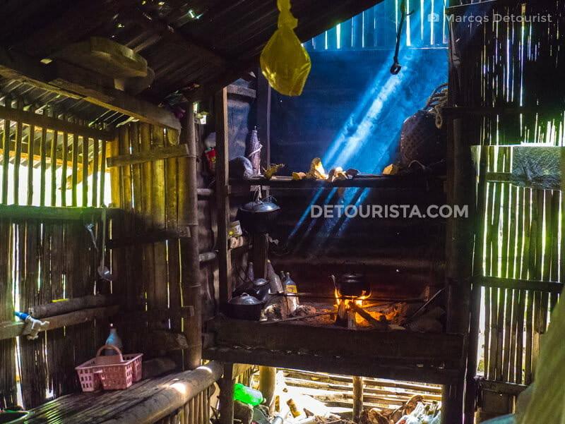 Native Kitchen, in Brgy. General Fullon, San Remigio, Antique, Philippines
