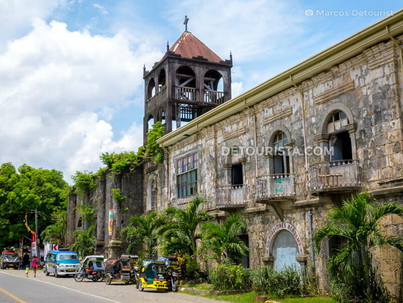 Patnongon Church and Convent Ruins, in Patnongon, Antique, Philippines