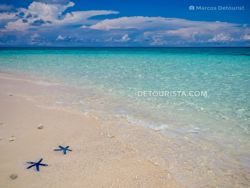 Laguna Blue Waters in Seco Island, Tibiao, Antique, Philippines