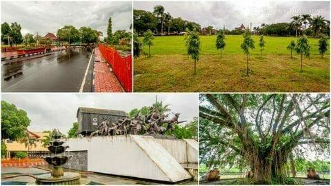 Bondowoso City Center Alun-Alun Park