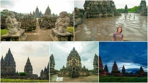 Prambanan Hindu Temple & Sewa Buddhist Temple Complexes