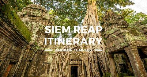 Siem Reap Itinerary – 3 Days Angkor Temples Tour