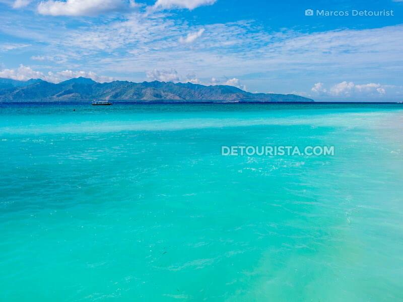 Gili Trawangan Island in Lombok, West Nusa Tenggara