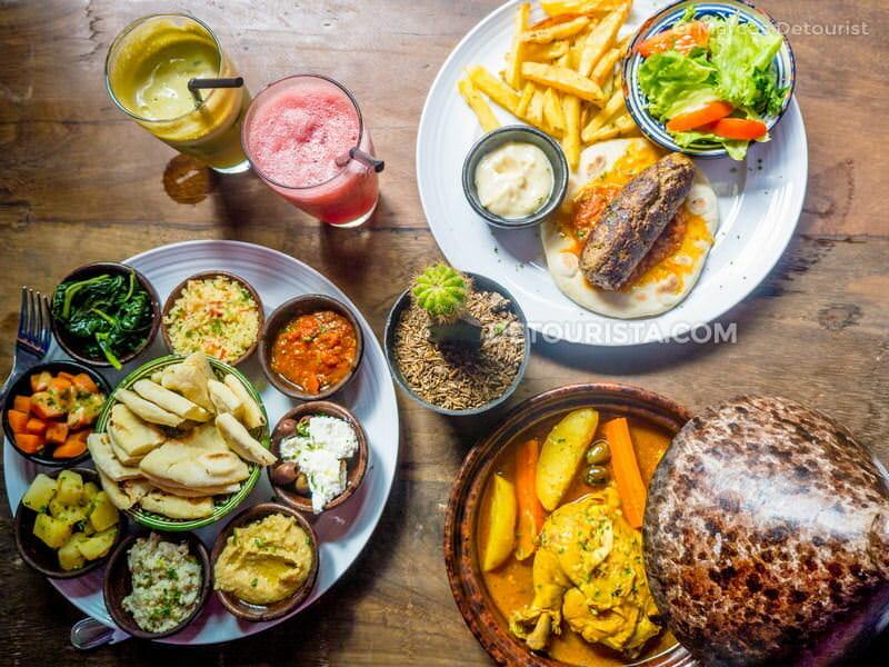 El Kuta Bazar Restaurant in Lombok, West Nusa Tenggara