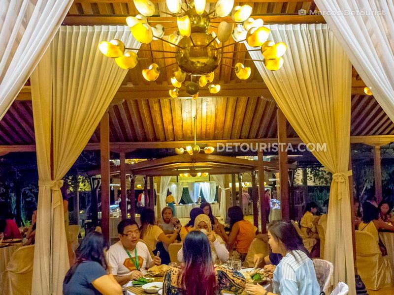 Omah Dhuwur Restaurant in Yogyakarta, Indonesia