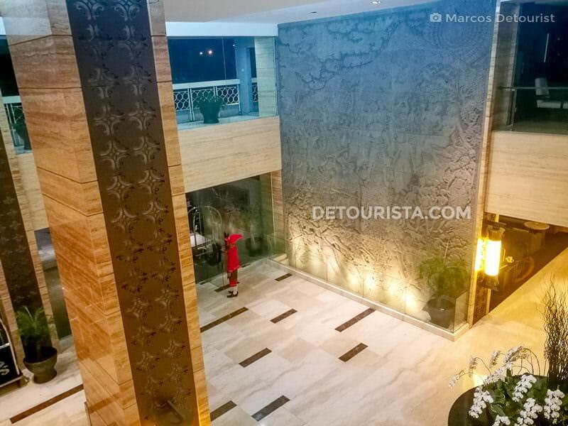 Reception Hall at Royal Amarrukmo Hotel