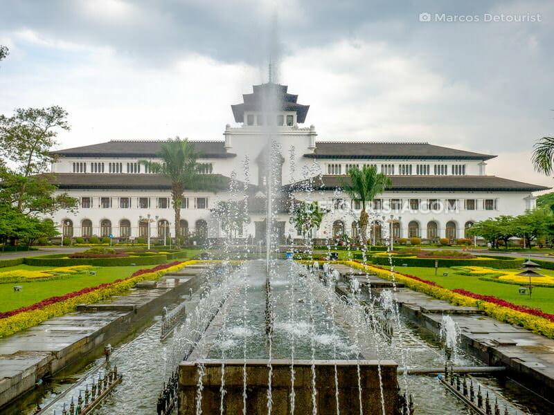 Gedung Sate in Bandung, Indonesia