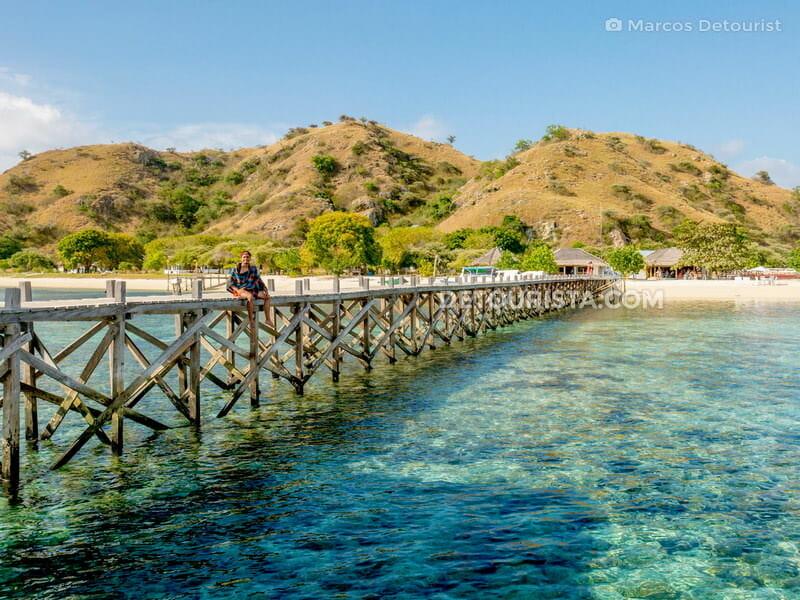 Kanawa Island in Komodo National Park, East Nusa Tenggara, Indonesia