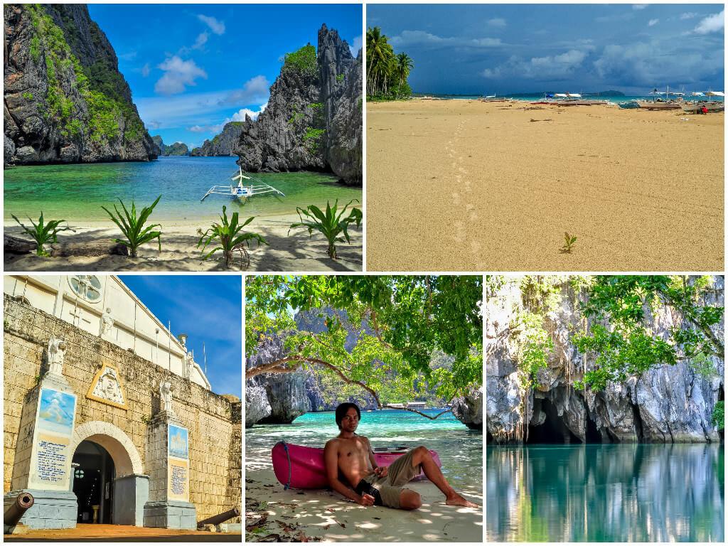 North Palawan — El Nido, San Vicente, Puerto Princesa, Cuyo, Taytay