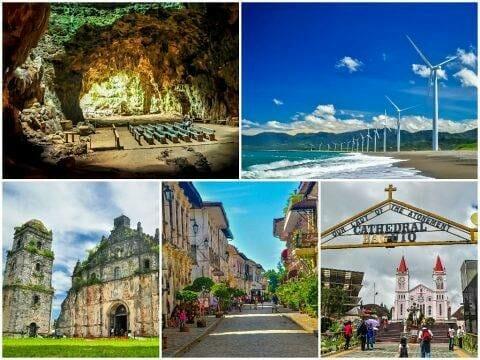 North Luzon Loop Highlights — Cagayan, Ilocos & Baguio