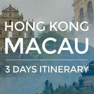 Hong Kong Itinerary – 3 Days HK-Macau Budget Trip (2017 Update)