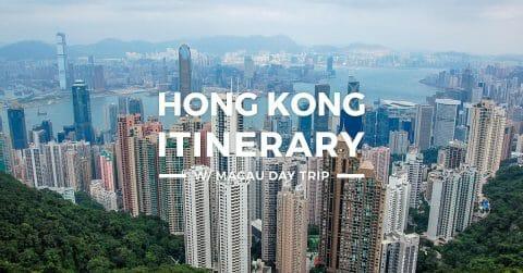 Hong Kong Itinerary