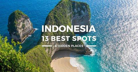 Indonesia – 13 Best Places to Visit for First-timers