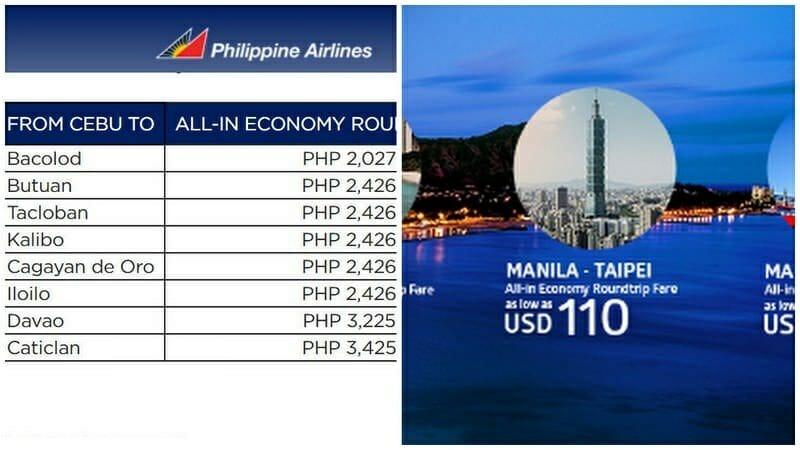 Philippine Airlines – Round-Trip Flights Weekend Sale – February, April, March 2017