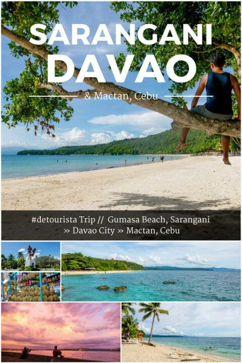 3 Days in Sarangani, Davao City & Cebu