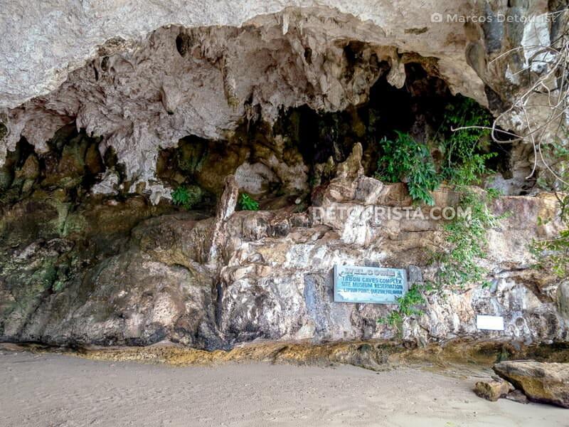 Tabon Cave entrance