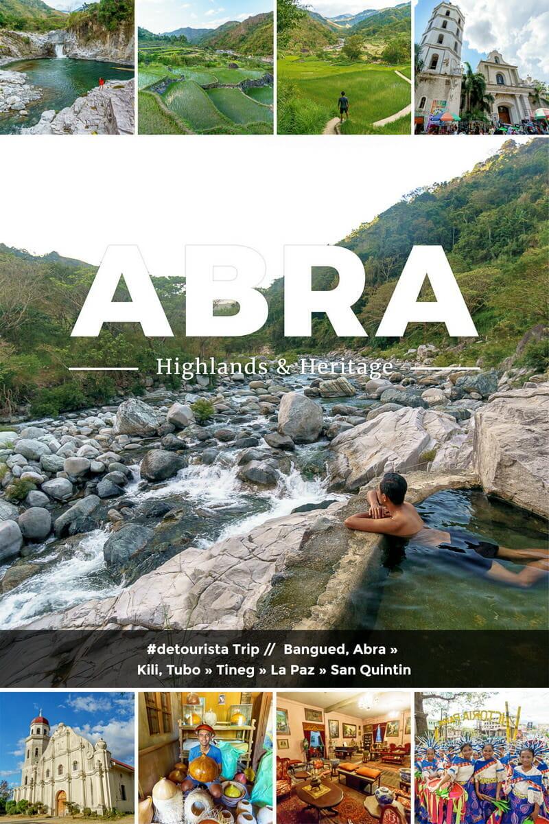 Abra Highlands & Heritage 5 Days