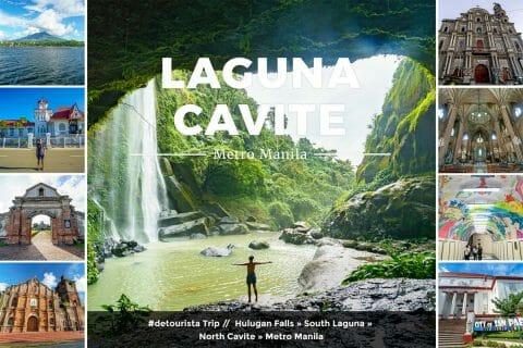 Laguna, Cavite, Metro Manila 2017
