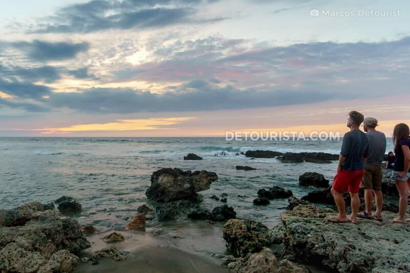 Sunset at Urbiztondo Beach