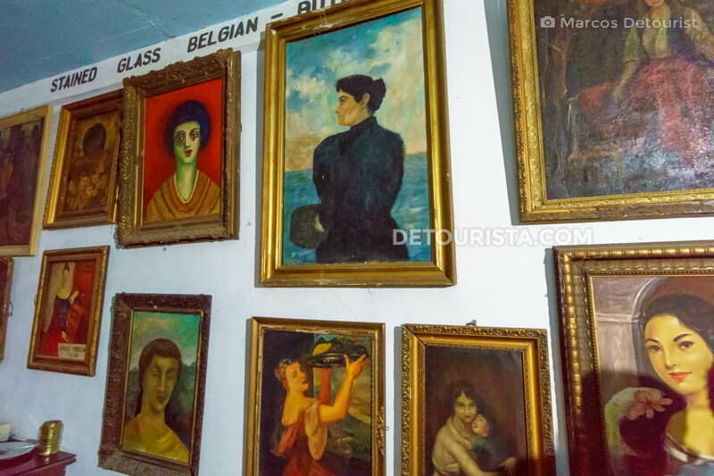 Paintings on display at Gabriel Silang Gallery of Fine Arts