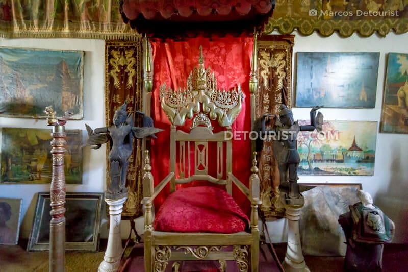 Burmese wooden chair