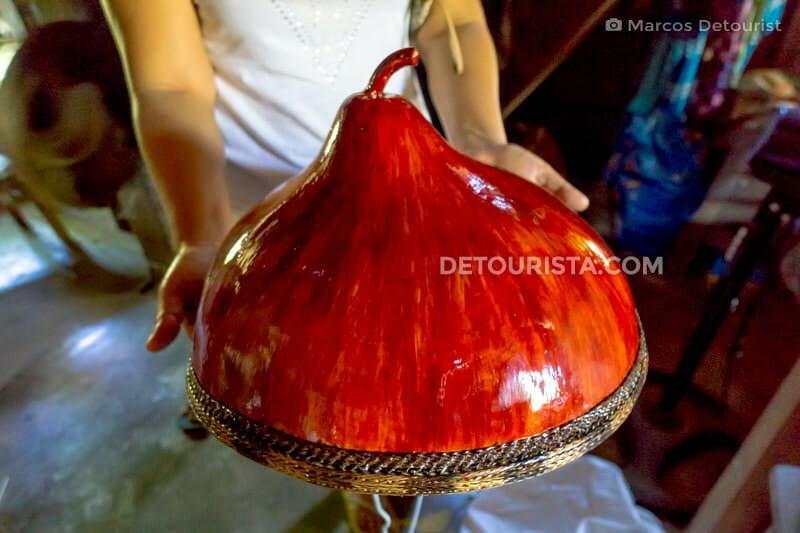 Tabungaw gourd hat