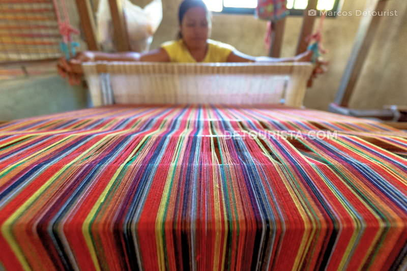 Abel loom weaving