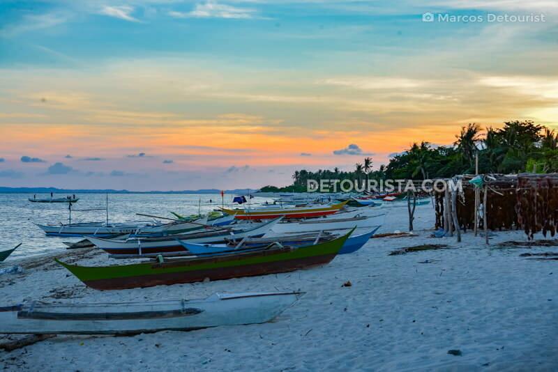 Sibolo Island sunset