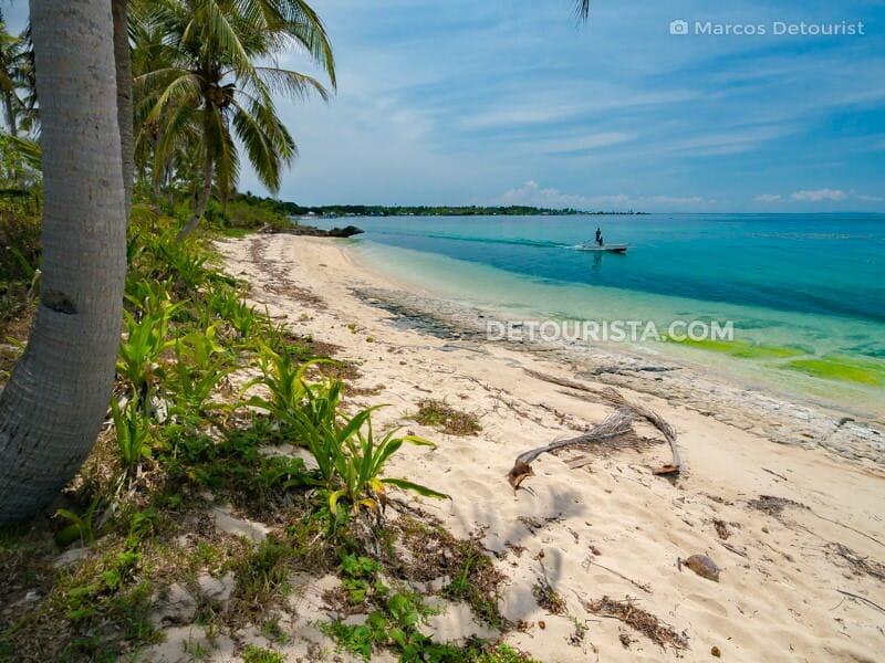 Sibato Island beach